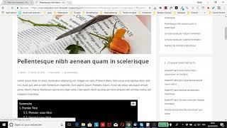 Afficher automatiquement des sommaires sur vos articles WordPress grâce à Easy Table of Contents