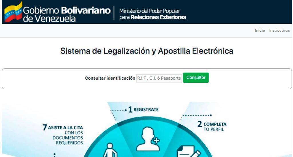 Cómo apostillar documentos en Venezuela【Cita para Apostilla】