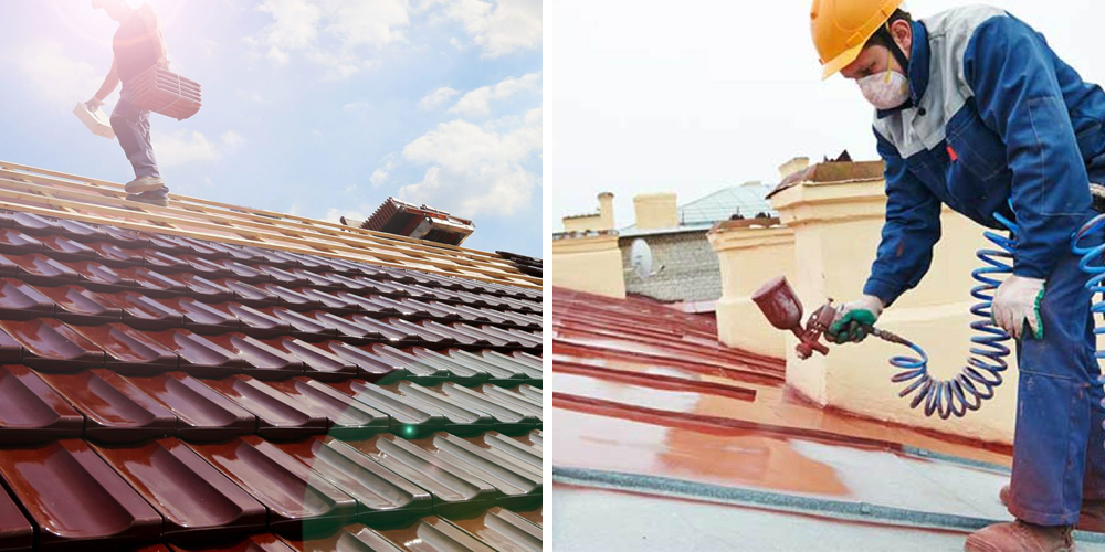 color roof tut roofing