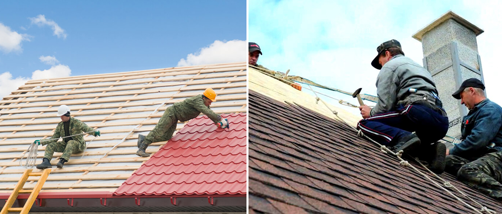 what are the duties of roofers