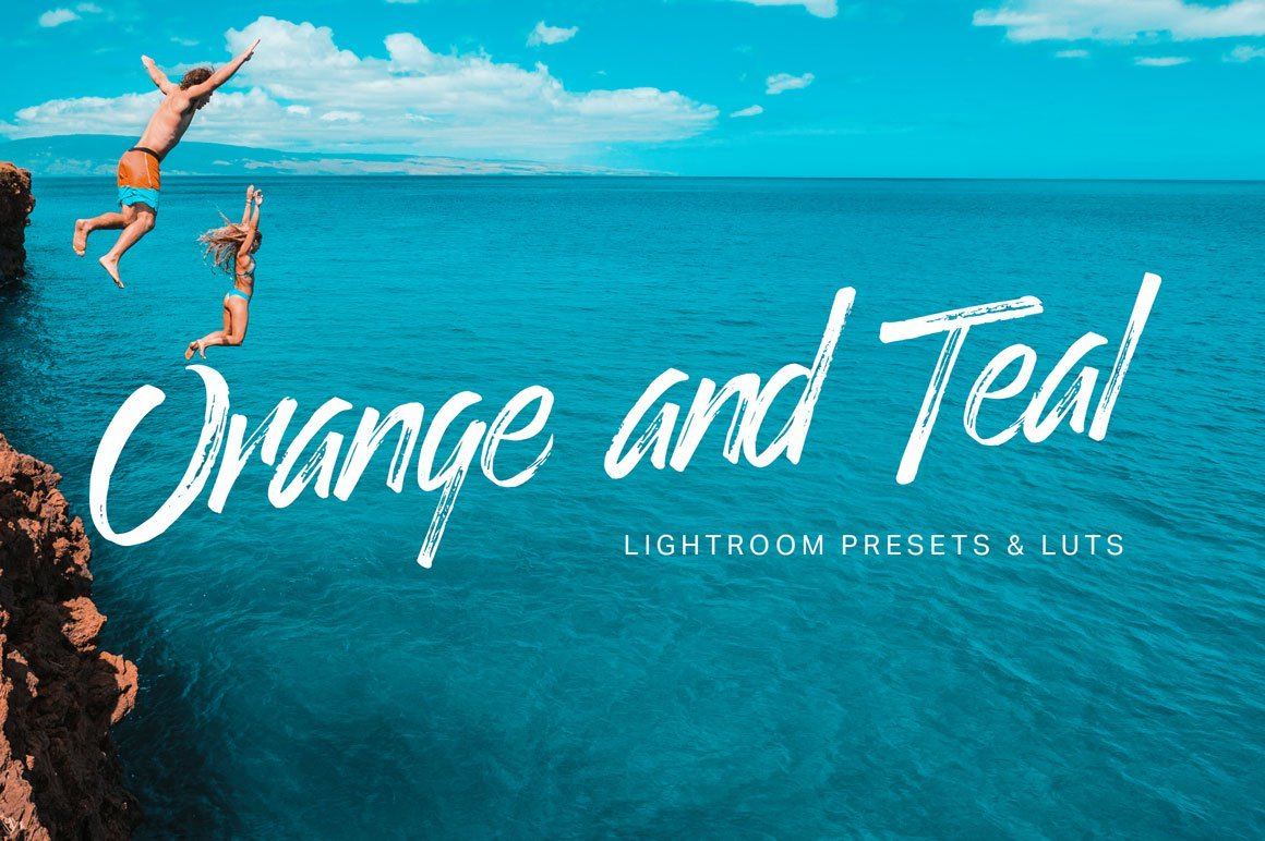 8 Free Orange and Teal Lightroom Presets and LUTS  Tuts