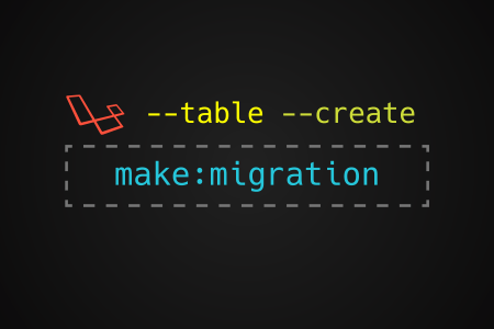 PHP make migration parameters
