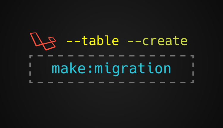 Make migration artisan command parameters in laravel tutsforweb php make migration parameters malvernweather Image collections