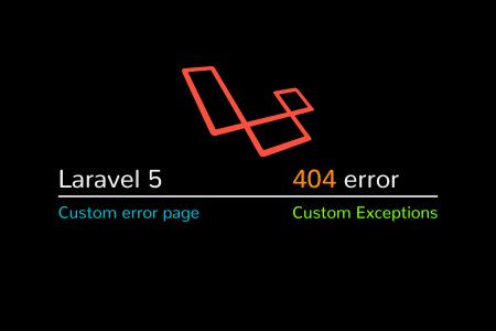 Laravel create custom 404 page