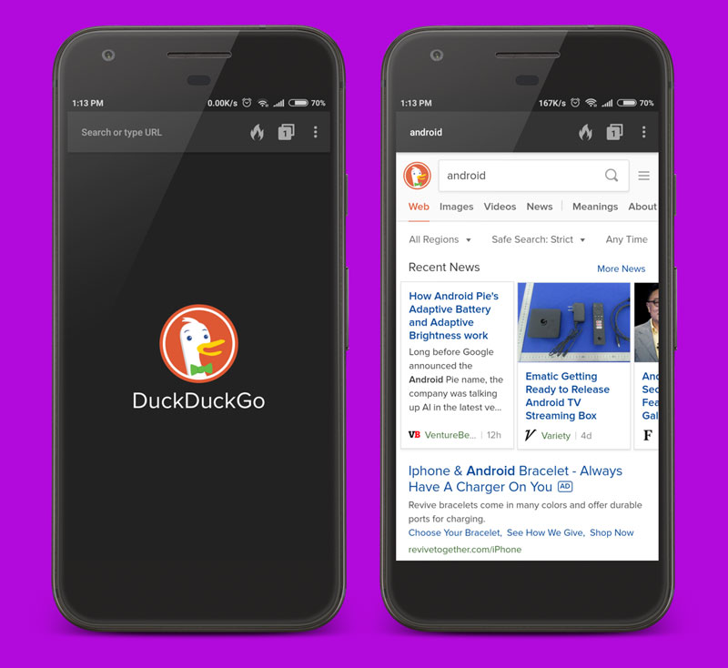 DuckDuckGo Best Android App