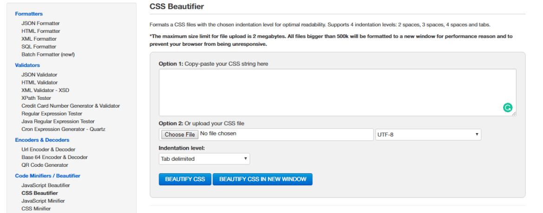 Free Formatter