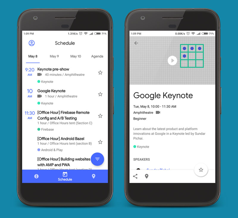 Google I/O 2018 Best Android App