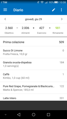 myfitnesspal app smartphone fitness dieta sport healthy