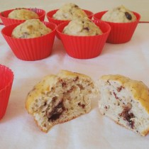 muffin fit avena oatmeal chocolate cioccolato fondente ricetta proteica protein healthy cleaneating italian english