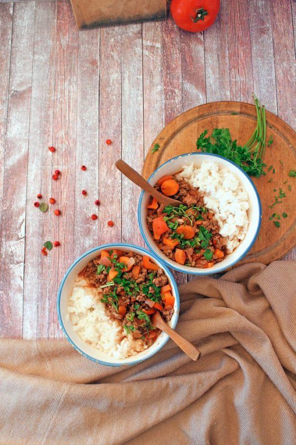 rice riso verdure meal plan prep preparazione pasti organizzazione