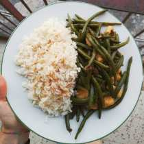 riso basmati fagiolini ricetta orientale verdure ridurre le calorie dieta