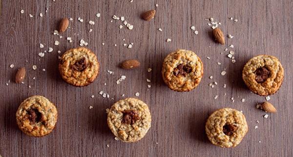 muffin alla banana muffit mandorle avena ricetta sana light