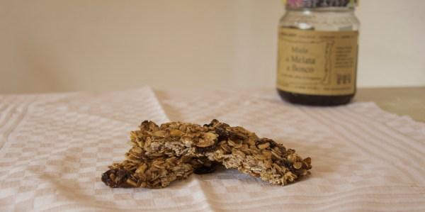 barrette ai cereali uvetta avena miele ricetta
