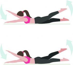 esercizi donne swimmer swimmers corpo libero
