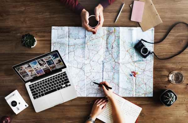 viaggi vacanze mappa