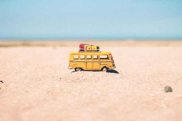 vacanze viaggio viaggi vacanza autobus spiaggia mare