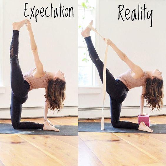 yoga block strap blocco cinghia