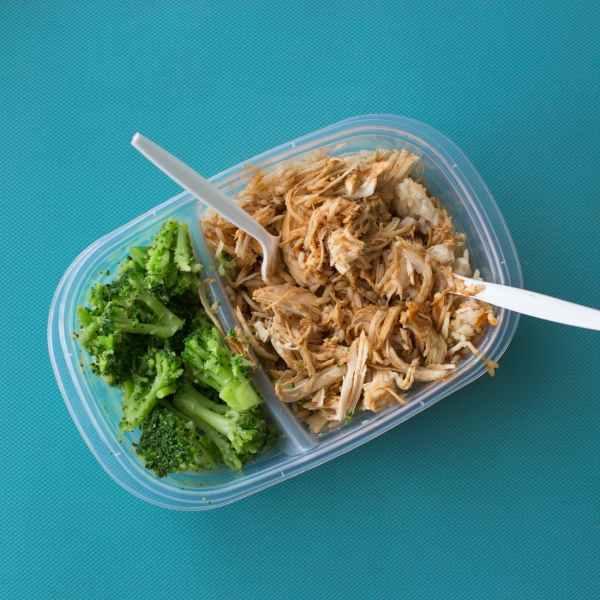 pranzo in ufficio tonno broccoli dieta