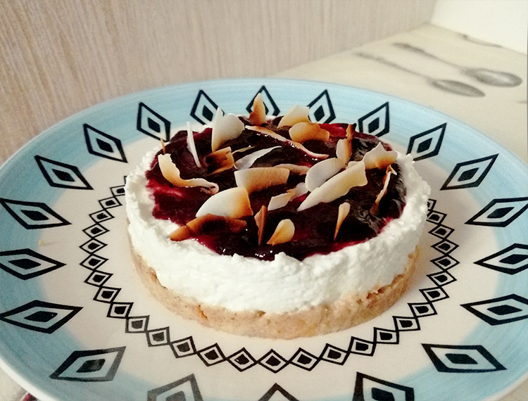 Fit cheesecake fredda: ricetta base senza addensanti