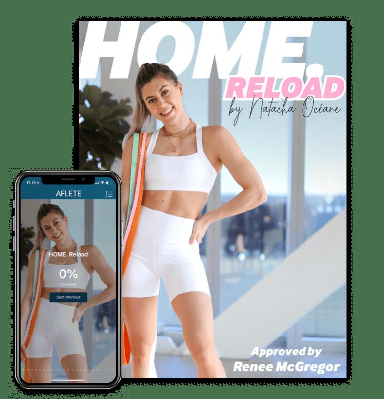 Recensione Home, il programma di Natacha Océane per allenarsi a casa
