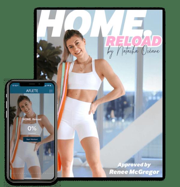 natacha océane oceane home reload home workout guida guide