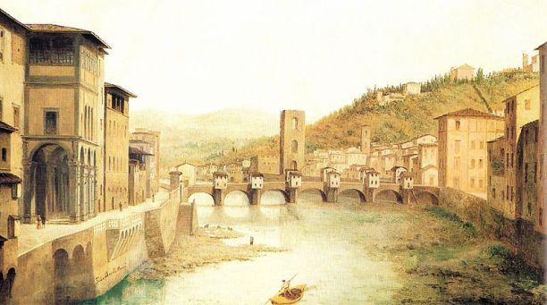 Firenze capitale nei pittori del tempo  tuttatoscana