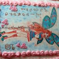 Torta Winx Bloom