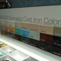 Colored Kitchen Sinks Showrooms The Best Of 2012 And Bath Industry Show Tuttle