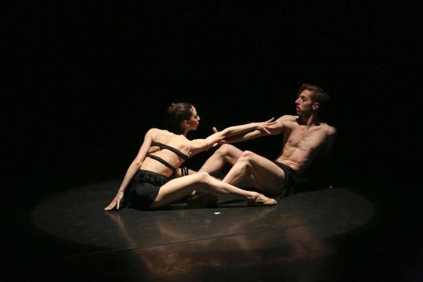 Angelica Gismondo e Federico Veratti in Bolero. © Ph. Carla Moro e Aurelio Dessì