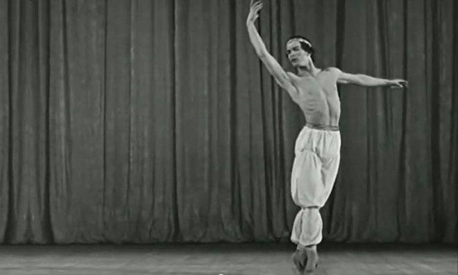 """Rudolf Nureyev in """"Le Corsaire""""."""