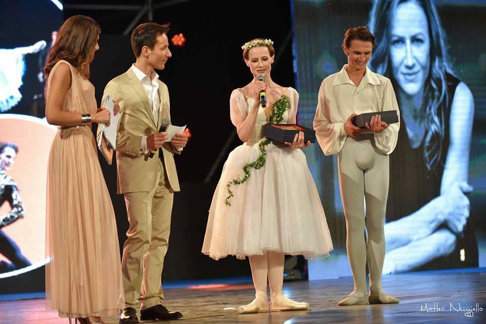 Da sinistra, Stefania Pinna, Alessandro Bizzotto, Nadja Saidakova e Dinu Tamazlacaru. © Ph. Matteo Nuzziello