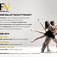Ballet Faculty Project: audizioni per il corso di perfezionamento biennale