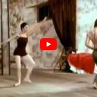 #TuttoDanzaOgniGiorno - Le Jeune Homme et La Mort con Rudolf Nureyev e Zizi Jeanmarie