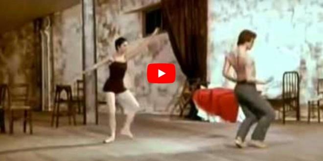 #TuttoDanzaOgniGiorno – Le Jeune Homme et La Mort con Rudolf Nureyev e Zizi Jeanmarie