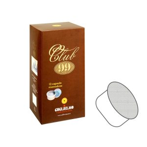Capsula Caffè Compatibile Espresso Point Guglielmo CLUB 99