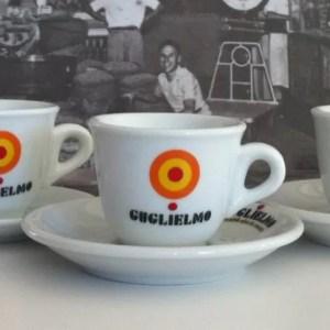 Set 6 Tazzine da Caffe GUGLIELMO CLASSICHE