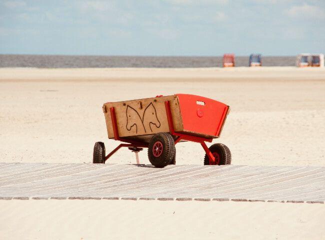 Carrello trolley sedia porta sedie trasformabile in tavolino spiaggia. I 9 Migliori Carrelli Da Spiaggia Per Trasportare Tutto Comodamente