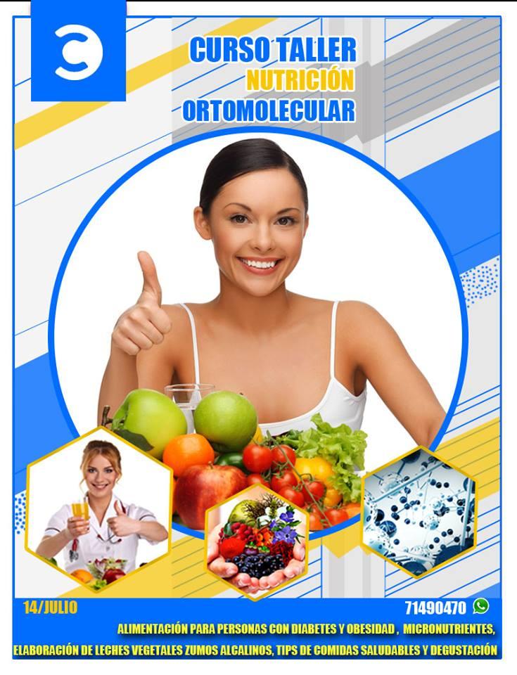 CURSO TALLER NUTRICION ORTOMOLECULAR