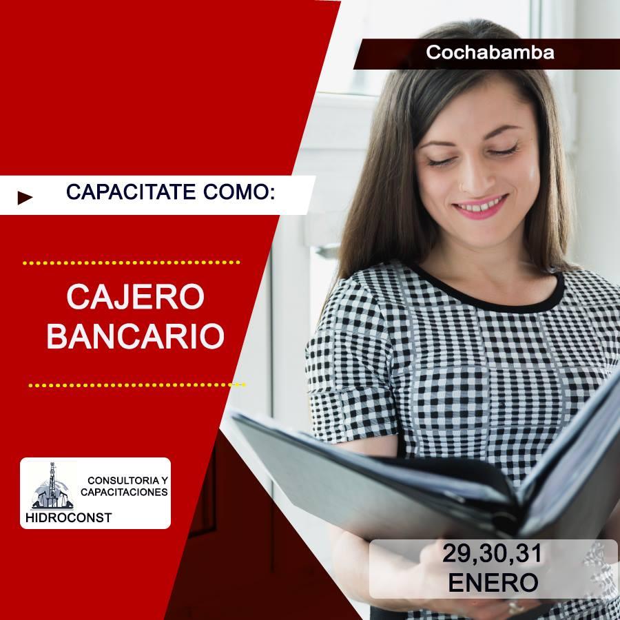 CURSO CAJERO BANCARIO COCHABAMBA