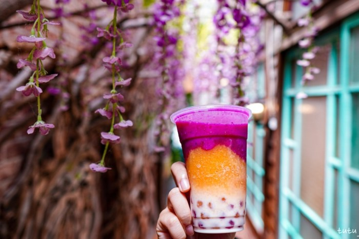  台東市區飲料 果珍濃台東水果珍珠專賣店-和心愛的人永遠在一起吧