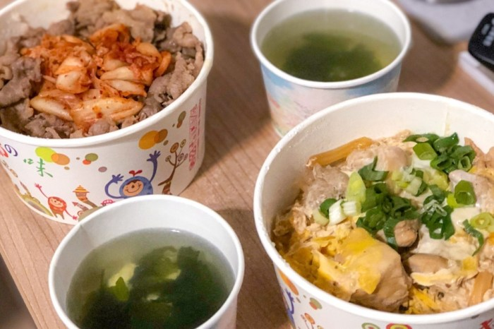 |花蓮吉安美食|屋台丼飯-只提供外帶的丼飯路邊攤