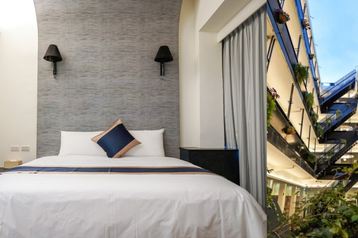 |台東市區住宿|路得行旅國際青年旅館 台東館-陽光天井的平價青旅 獨立房型好自在