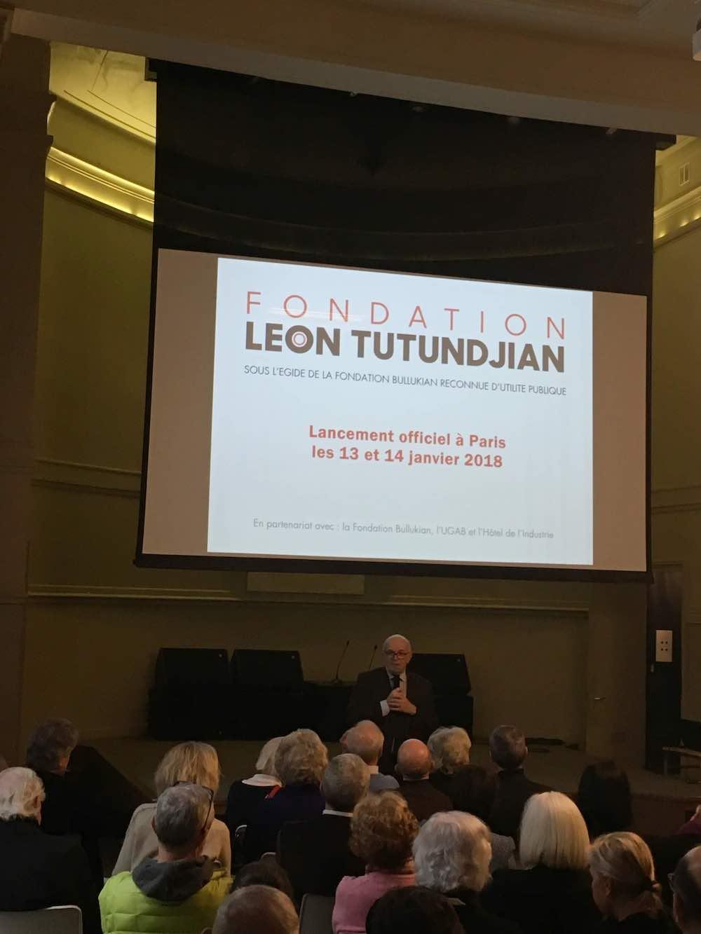 The Léon Tutundjian Foundation Days , 2018