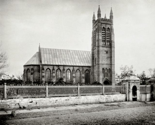Англиканская церковь Св. апостола Андрея в Москве. 1884 год