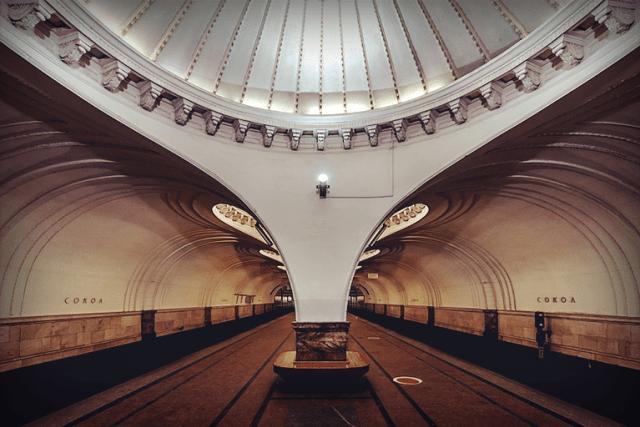 """Станция """"Сокол"""", 2016 год."""
