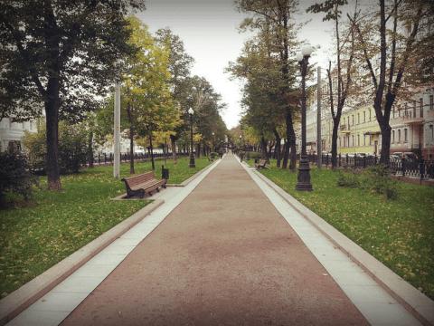 Петровский бульвар, 2013 год