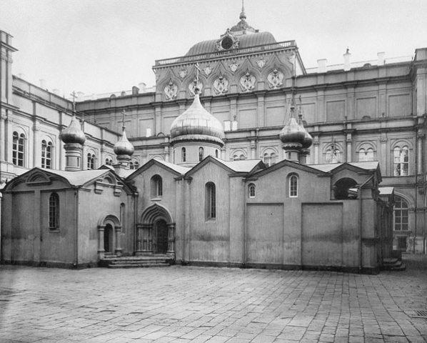 Собор Спаса Преображения на Бору в Московском Кремле, 1882 год