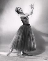 Patricia Wilde in Balanchine's La Valse, circa 1951