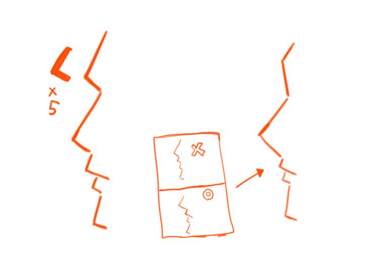 横顔の描き方1