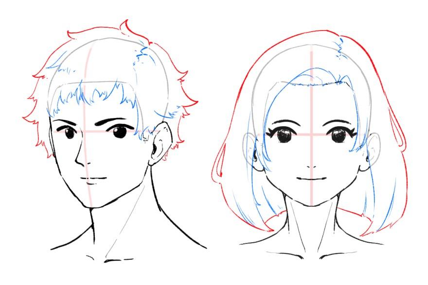 簡単顔の描き方8